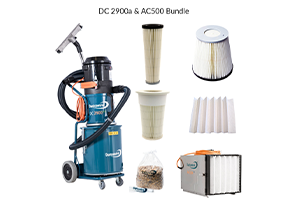 DustControl Extractor & Air Cleaner Bundles