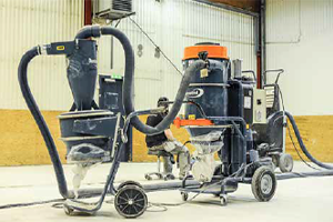 Mobile Wood Dust Extractors