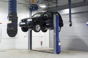 Vehicle Exhaust Extraction