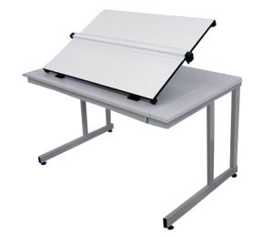 Orchard A1 Flip Top Drawing Table 1200 Cantilever Legs