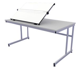 Orchard A1 Flip Top Drawing Table 1500 Cantilever Legs