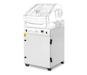 Bofa DentalPRO Base with illustration of Example CNC/Milling Machine situated on the base unit
