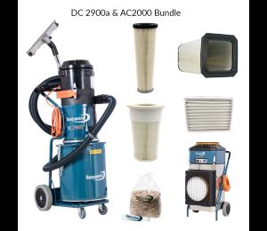 DustControl DC2900a & AC2000 bundle - 240V