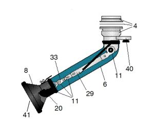 Wear Discs Kit for Nederman Telescopic Arm