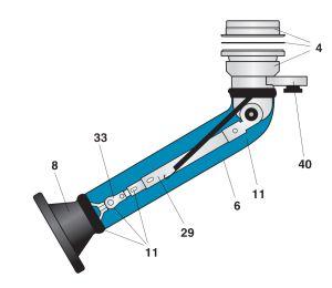 Nederman Telescopic Arm Spare Parts Diagram