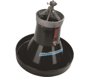 Large Metal Hood With Damper Nederman Original and Telescopic Arms