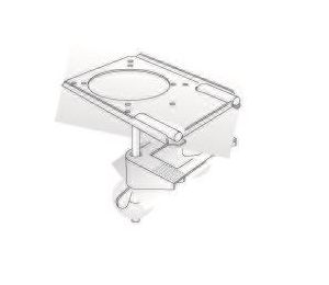 Table Clamp Bench Bracket for Nederman FX 32 Arm