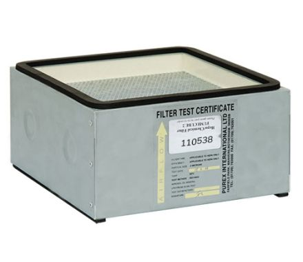 Purex 110538 Combined HEPA Chemical Main Filter for FumeCube Cleanroom applications