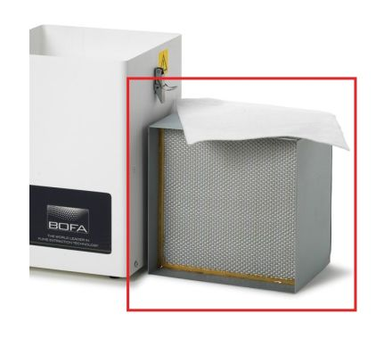 V200 V250 HEPA Gas Combined Filter Highlighted