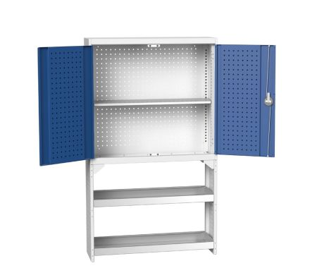 Perfo Static Rack with Cupboard