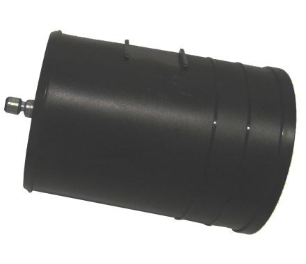 Nederman Quick Coupler male with Rubber Sleeves and Hose Clip