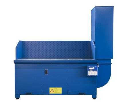AES BC Downdraft Welding and Grinding Extraction Bench
