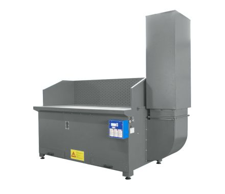 AES BC Downdraft Extraction Bench for Stone Dust & Masonry