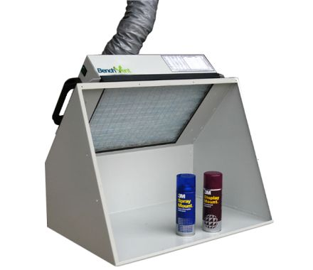 BenchVent BV200H-D Ducted Spray Booth