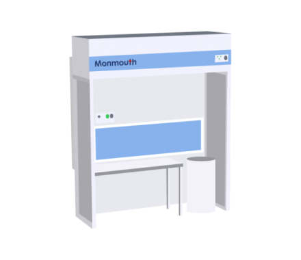 Monmouth Scientific Circulaire Powder Containment Booth