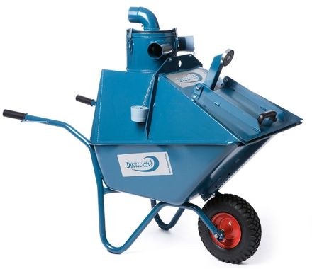 Dustcontrol DCF Wheelbarrow with Cyclone Pre-separator