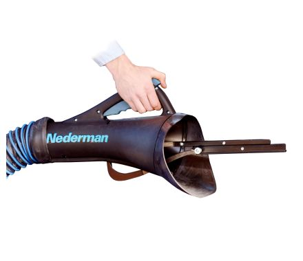 Nederman Nozzle for Built In and Covered Exhaust Pipes