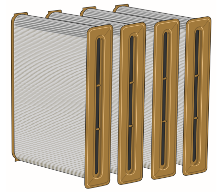 Nederman Filtermax C25 Filter Cartridges 4 Pack