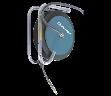 Nederman 893 Compressed Air / Water Retractable Industrial Hose Reel