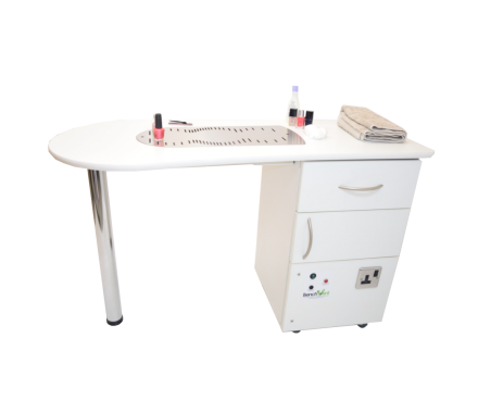 BenchVent BV3000 Extraction Nail Technician Desk
