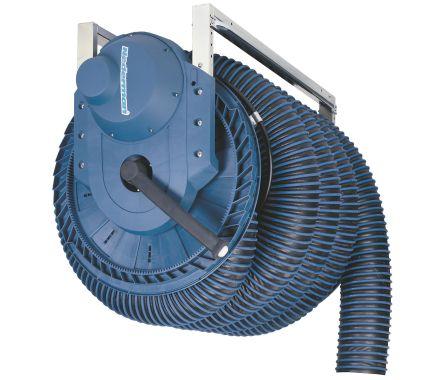 Exhaust Hose Reel 865 - Electric Motor Driven Ø200mm/7M