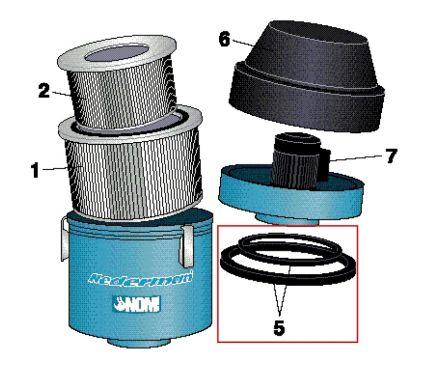 Nederman NOM 4 Sealing Kit Highlighted