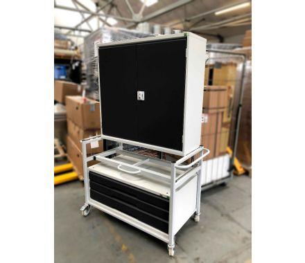 Nortek TT1M Mobile Tool & Vice Storage Unit