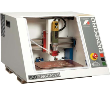 Denford PCB Engraver Package - With Dust Extraction Unit