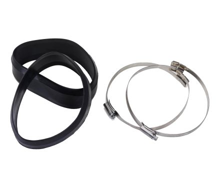 Nederman Hose Clip with Rubber Sleeves