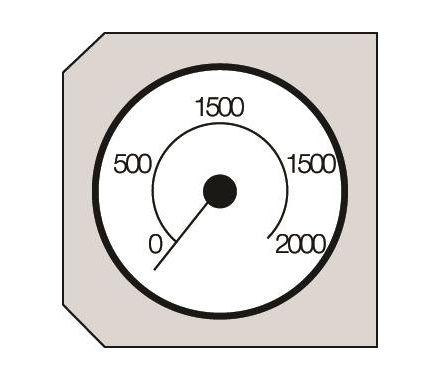 Nederman NOM 4 Pressure Gauge Drawing