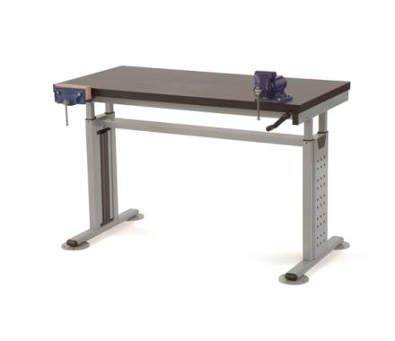 Variable Height Mixed Materials Workstation