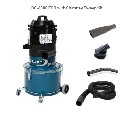 DustControl DC1800 Chimney Sweep Kit