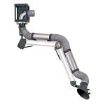 ESTA ceiling mounted ball-joint extraction arm