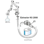 Nederman Benchtop Extraction Kit 2000