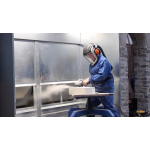 GEF Stone Dust Grinding & Cutting Booth