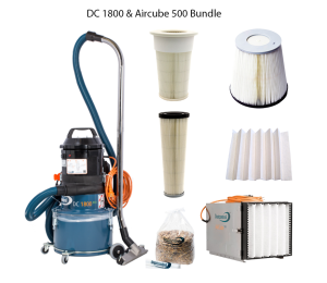 DustControl 1800 & Aircube 500 bundle - 240V