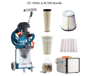 DustControl DC 2900c & AC 500 bundle