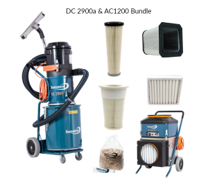 DustControl DC 2900a & AC 1200 bundle