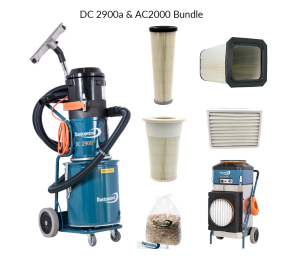 DustControl DC2900a & AC2000 bundle - 240V