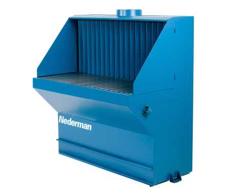 The Nederman Welding/Grinding Table