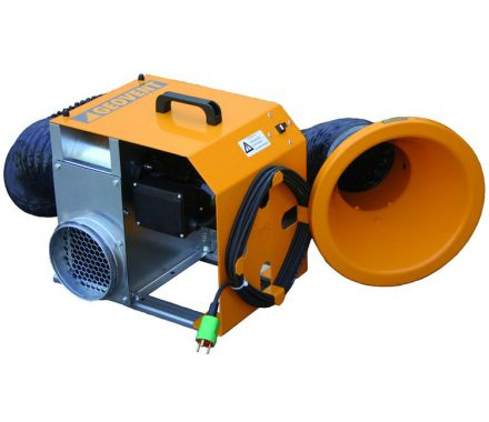 Geovent Portable fan with Hose and Hood