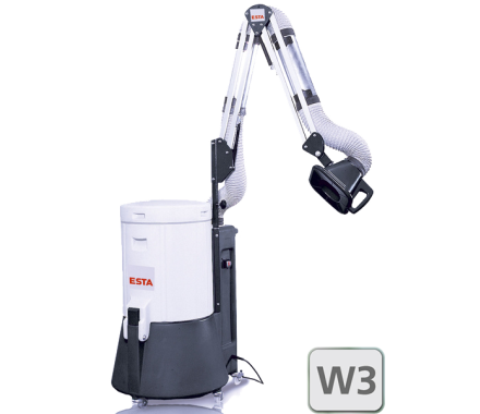 ESTA SRF K-10 W3 with Extraction Arm