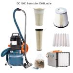 DustControl 1800 & Aircube 500 bundle - 240V